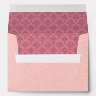 Damask Rose Envelopes