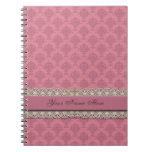 Damask Rose Journals