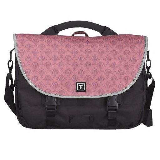 Damask Rose Laptop Bag