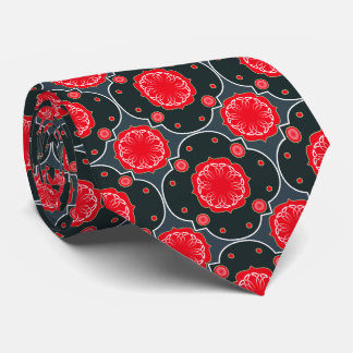 Damask Roses Tie