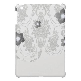 damask roses white and black.ai iPad mini covers