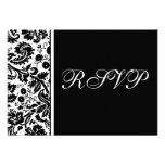 Damask RSVP Multipack Template -Choose your colors Invite