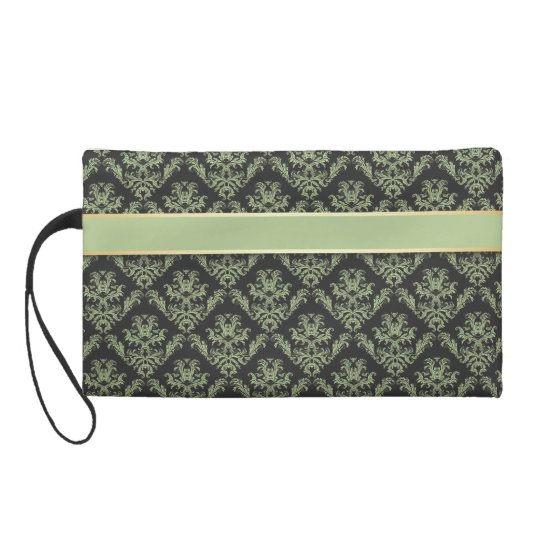 Damask Sage & Gold - Clutch 1