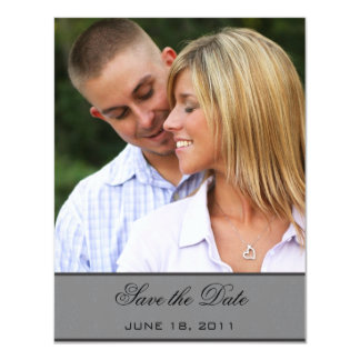 Damask Save the Date Announcement