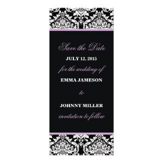 Damask Save the Date Personalized Invite