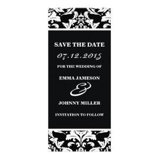 Damask Save the Date Custom Invitations