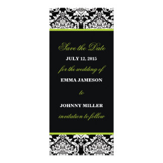 Damask Save the Date Personalized Invitation