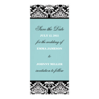 Damask Save the Date Personalized Announcements