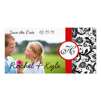 Damask Save the Date- Scroll down to see new style Card