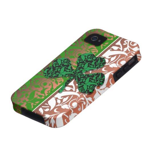 damask shamrock iPhone 4 case