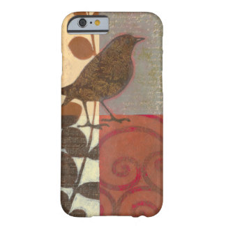 Damask Sparrow Barely There iPhone 6 Case