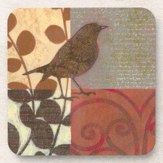 Damask Sparrow Coaster