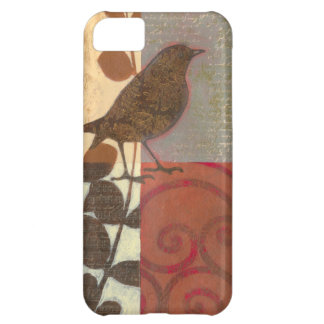 Damask Sparrow Cover For iPhone 5C