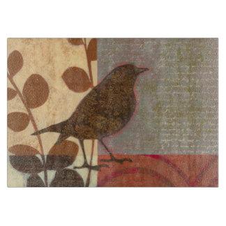 Damask Sparrow Cutting Board