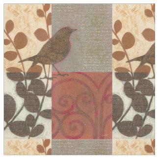 Damask Sparrow Fabric