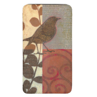 Damask Sparrow Galaxy S5 Pouch
