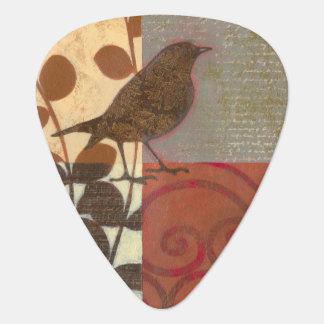 Damask Sparrow Guitar Pick
