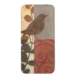 Damask Sparrow iPhone SE/5/5s/5c Pouch