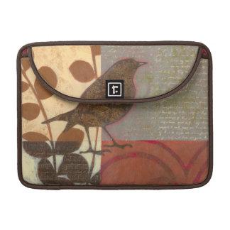 Damask Sparrow MacBook Pro Sleeves