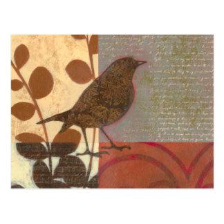 Damask Sparrow Postcard
