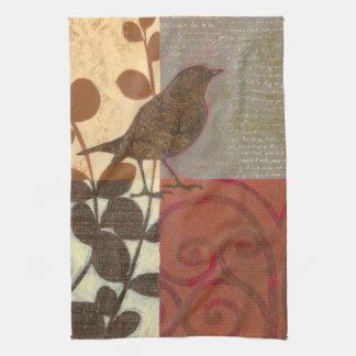 Damask Sparrow Towel