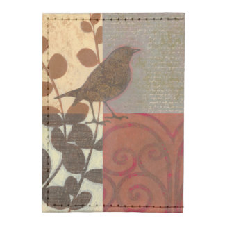 Damask Sparrow Tyvek® Card Case Wallet