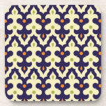 Damask Spring arabesque Moroccan pattern preppy Coasters