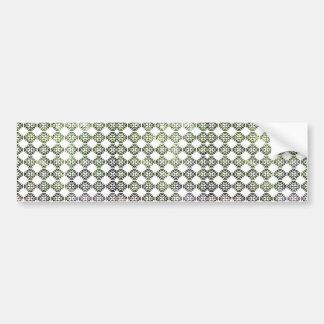 Damask Spring Forest Light Bumper Sticker