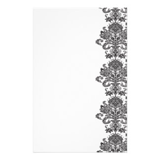 Damask Stationery