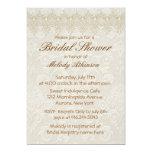 Damask Swan Elegance Ivory - Bridal Shower Cards