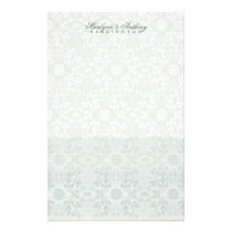 Damask Swirls Lace Dream Thank You Stationery