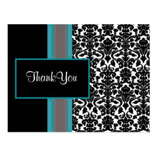 damask ThankYou Cards