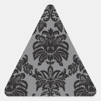 Damask Triangle Sticker