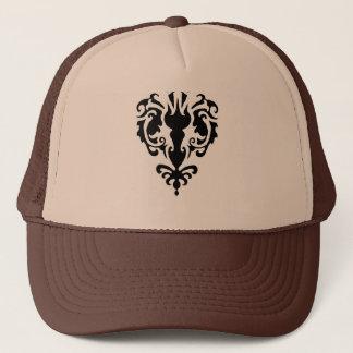 Damask Trucker Hat