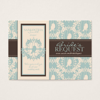 Damask Tweets Business Card