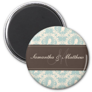 Damask Tweets Magnet