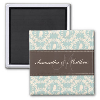 Damask Tweets Magnet 2