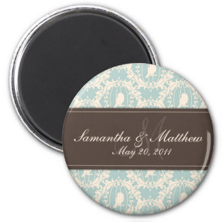 Damask Tweets SD Magnet