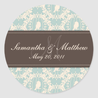 Damask Tweets SD Sticker