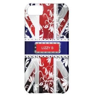 Damask Union Jack Iphone 5 Case-Mate Case