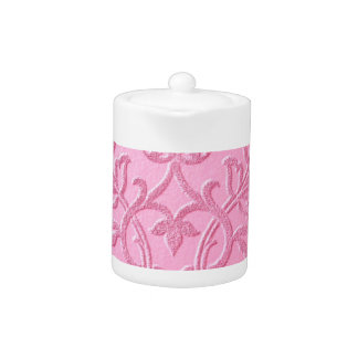 damask velvet pink girly victorian pattern textile