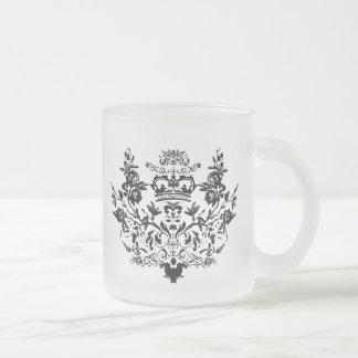 Damask Victorian Mug Black