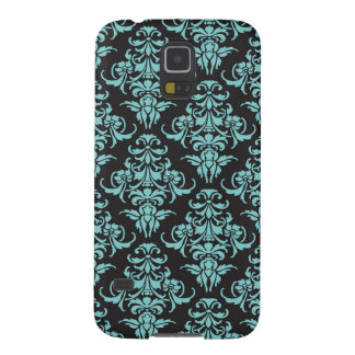 Damask vintage chandelier wallpaper floral pattern galaxy s5 case