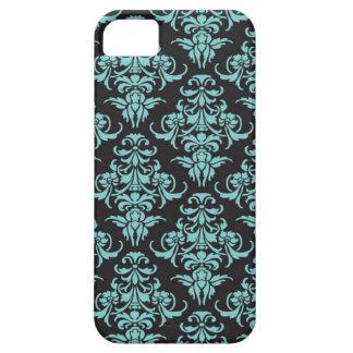 Damask vintage chandelier wallpaper floral pattern iPhone SE/5/5s case