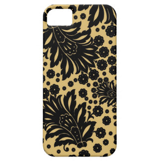 Damask vintage paisley feather floral pattern iPhone 5 cover
