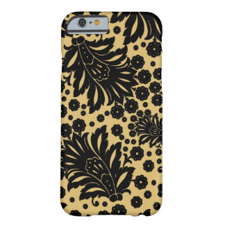 Damask vintage paisley feather floral pattern iPhone 6 case