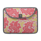 Damask vintage paisley girly chic floral pattern MacBook pro sleeve