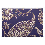Damask vintage paisley girly floral chic pattern cloth placemat