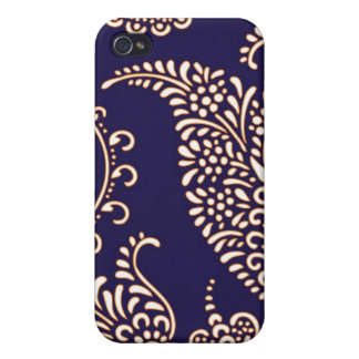 Damask vintage paisley girly floral chic pattern covers for iPhone 4