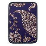Damask vintage paisley girly floral chic pattern MacBook sleeve
